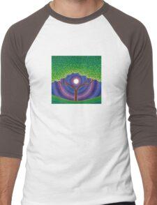 Happy Tree of Life Men's Baseball ¾ T-Shirt