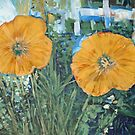 Yellow Poppies by John Fish