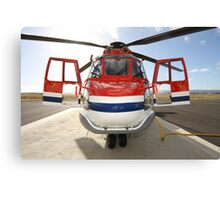 Helicopter Eurocopter AS332L1 Puma Canvas Print
