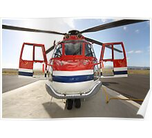 Helicopter Eurocopter AS332L1 Puma Poster