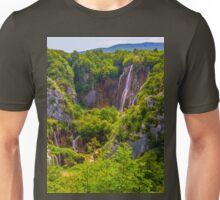 a colourful Croatia landscape Unisex T-Shirt