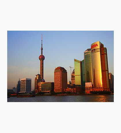 Cityscape Series - Shanghai Photographic Print