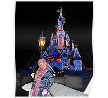 Annabel in Disneyland Poster