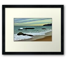 freezing afternoon Framed Print