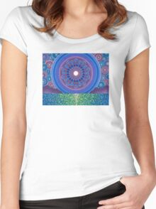 Prettiest of places Women's Fitted Scoop T-Shirt