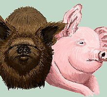 The Pigs by Ellie Bailey