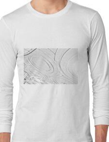 Manor House Tube Station Long Sleeve T-Shirt