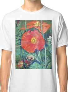 Red Poppies Classic T-Shirt
