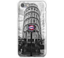 Mansion House Tube Station iPhone Case/Skin