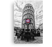 Mansion House Tube Station Canvas Print
