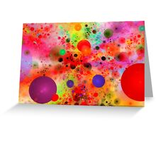Happy bubbles Greeting Card