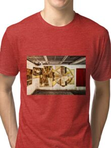 Marble Arch Tube Station Tri-blend T-Shirt