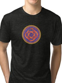 Red Ouroboros Celtic Snake Tri-blend T-Shirt