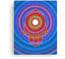 Hamsa- Protection against the Evil Eye Canvas Print