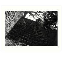 Lost stairs Art Print