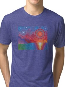 Kauai, Hawaii Sunset Tri-blend T-Shirt