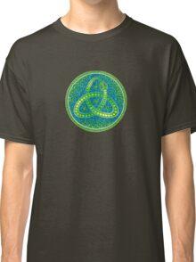 Green Ouroboros Celtic Snake Classic T-Shirt