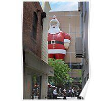 David Jones's Santa Poster