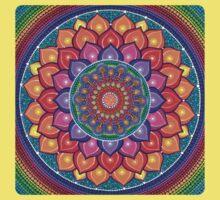 Lotus Rainbow Mandala Kids Clothes
