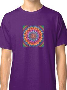 Lotus Rainbow Mandala Classic T-Shirt