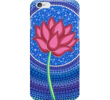 Splendid Calm Lotus Flower iPhone Case/Skin