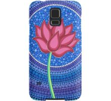 Splendid Calm Lotus Flower Samsung Galaxy Case/Skin