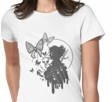 Clown profile Womens Fitted T-Shirt