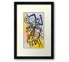 """""""Interdimensional Rescue Squad"""" by Richard F. Yates Framed Print"""
