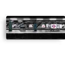 Moorgate Tube Station Canvas Print