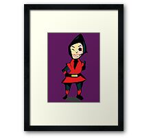 You can count on Wasp! Framed Print