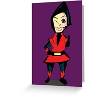 You can count on Wasp! Greeting Card