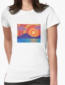 Elegant Sunset over Mountains T-Shirt