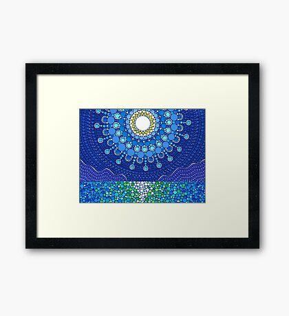 Full Moon Splendour Framed Print
