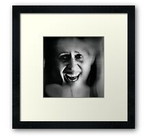 M ... Fear of the Dentist Framed Print