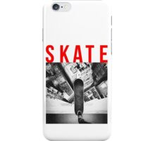 Extreme Skater On The Roof iPhone Case/Skin