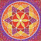 Sacred Geometry Star Flower by Elspeth McLean