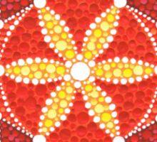 Sacred Geometry Star Flower Sticker