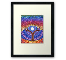 Secret Life of Trees Framed Print
