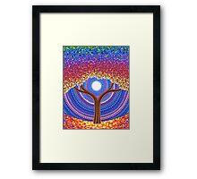 Secret Life of Trees Framed Print