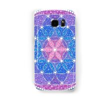 Starry Flower of Life Samsung Galaxy Case/Skin