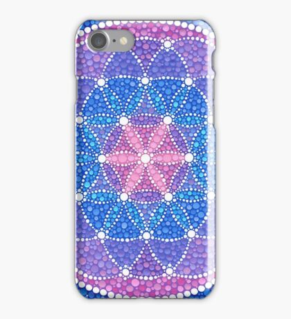 Starry Flower of Life iPhone Case/Skin
