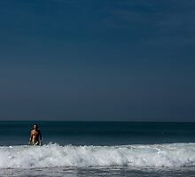 Still marooned, Silence drifting through, Nowhere to choose, Just blue.. by Saikat Babin Biswas