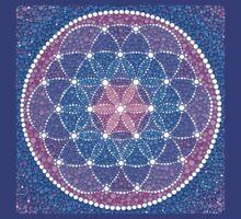 Starry Flower of Life T-Shirt