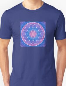 Starry Flower of Life Unisex T-Shirt