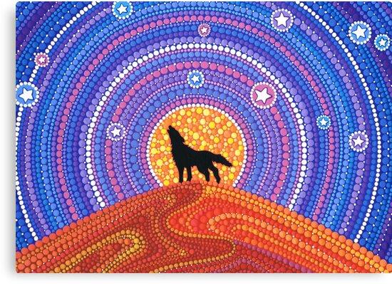 Night of the Wandering Wolf by Elspeth McLean