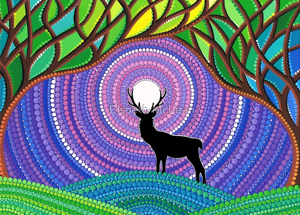 A Silent Visitor by Elspeth McLean