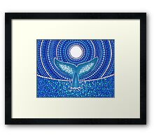 Whale of a Tale Framed Print