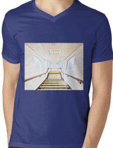 Neasden Tube Station Mens V-Neck T-Shirt