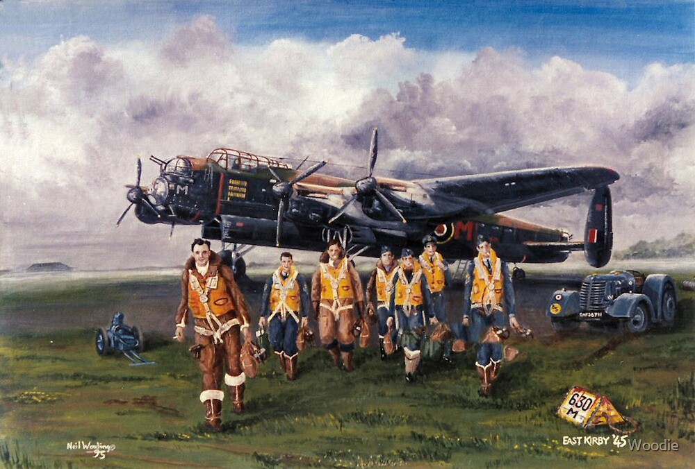 630 Sqdn Aircrew Return by Woodie