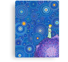 The Cosmic Little Prince Canvas Print